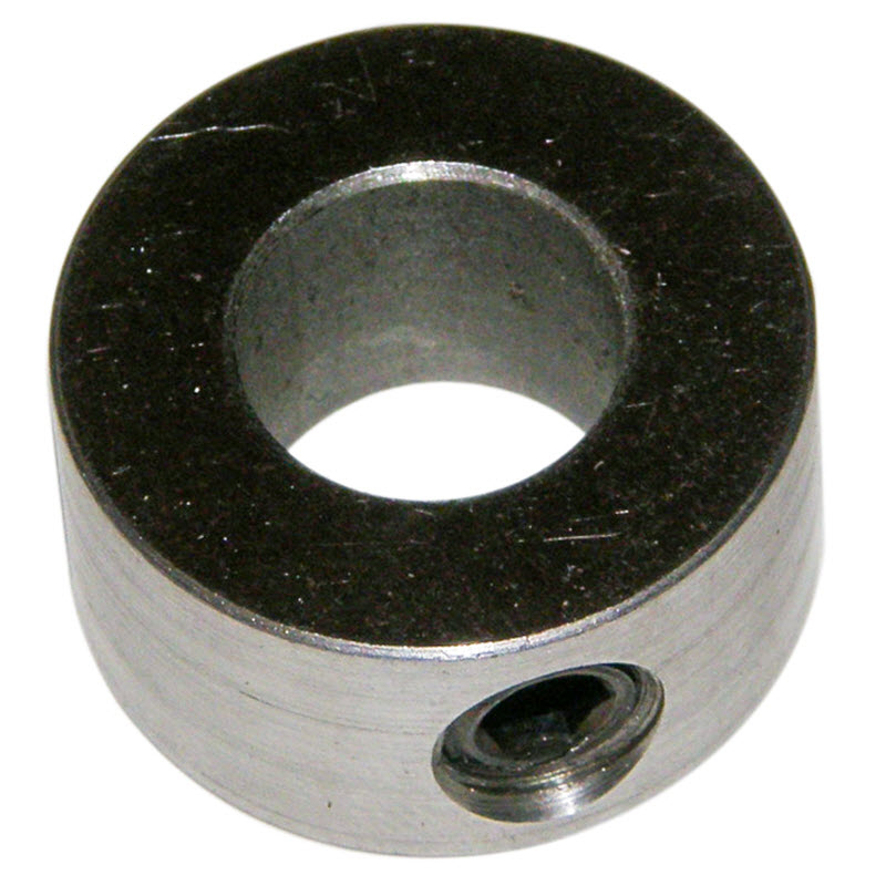 3/4 inch carriage way rail lock collar supports for use on HT12, HT14 and Lortone LS12 and LS15 Panther slab saws
