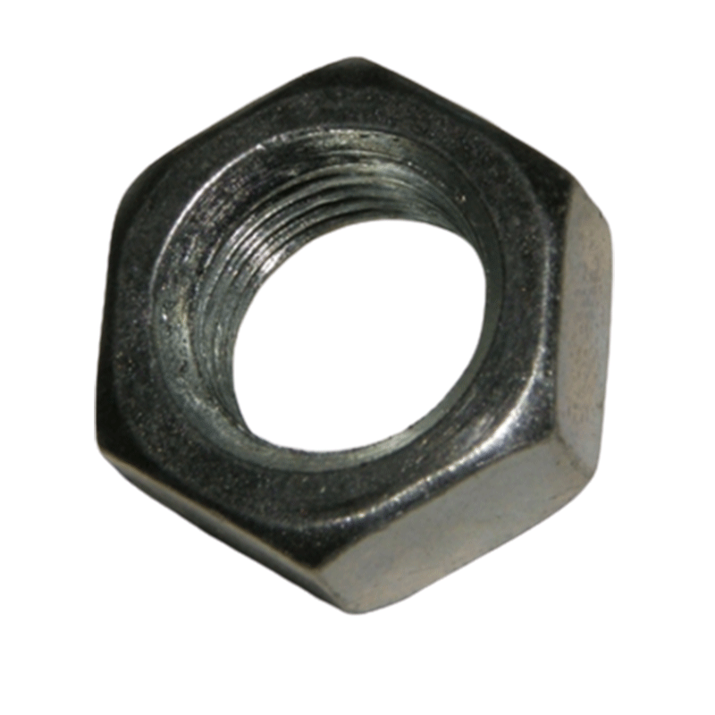 Carriage crossfeed jam nut for 24 and 36 inch slab saws and arbor jab nut for HT10, HT12, HT14, Model 6, Model 16 and Lortone TS10, LS10, LS12 and LS14 Panther slab saws