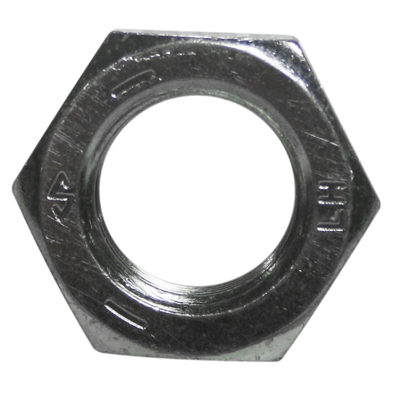 5/8-18 left hand jam nut for HTD-14 and Lortone LS-14 drop saw