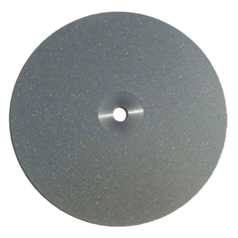 6 inch 260 grit diamond flat lap with 1/2 inch mounting hole