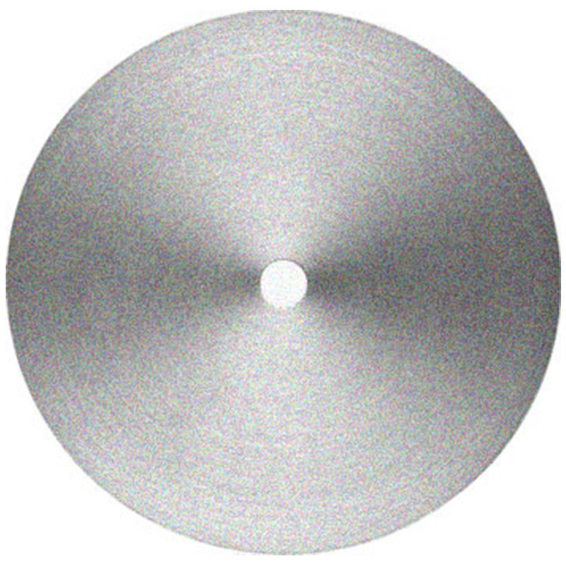 24 inch 45 grit diamond flat lap with magnetic back and 1 inch mounting hole