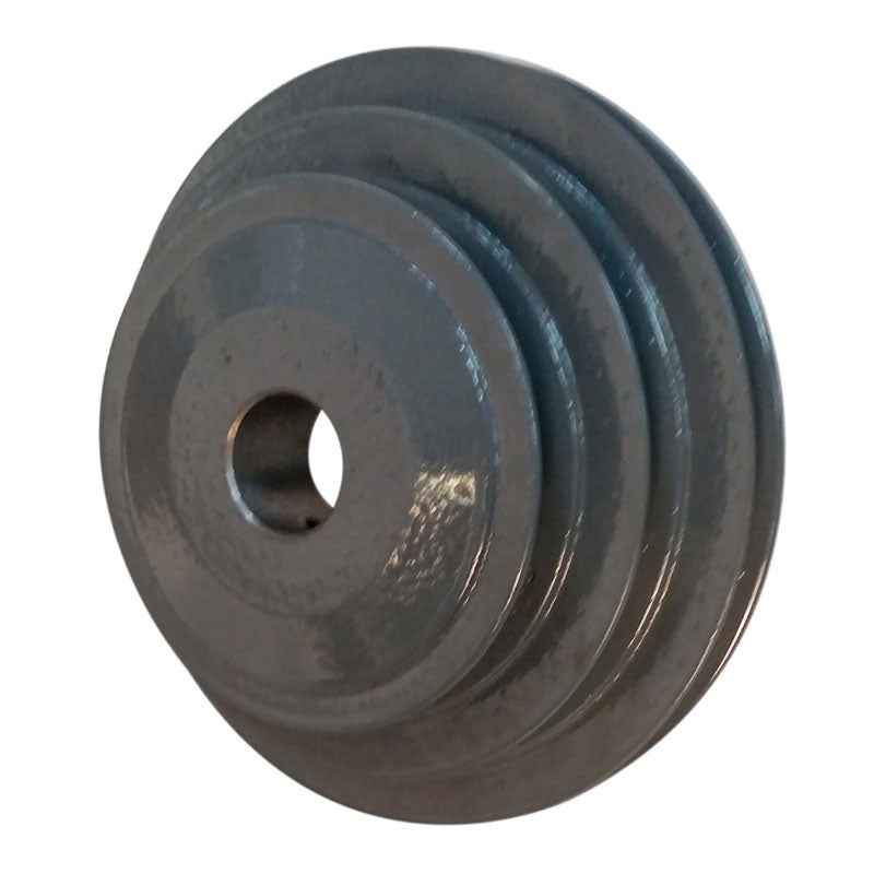 Frantom powerfeed 4-5-6 inch step pulley with 1 inch bore for 18, 20 and 24 inch slab saws