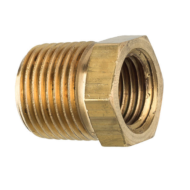 3/8 NPT male to 1/4 NPT female fitting adapter for Everclean coolant pump