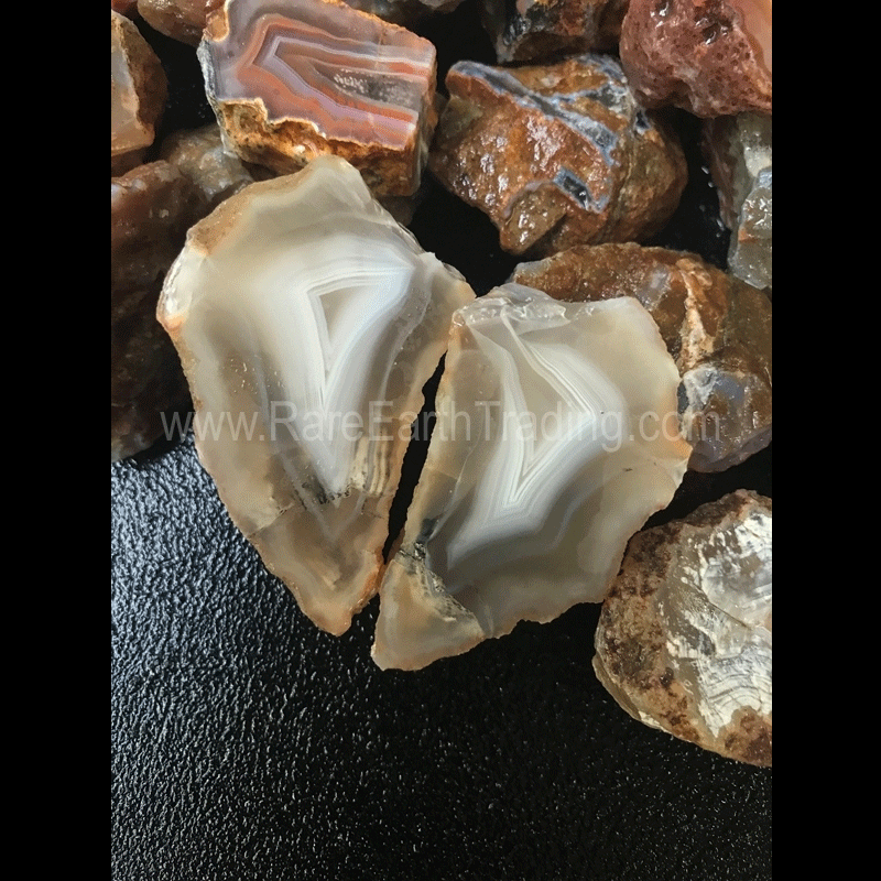 Alimajo Agate Rough from Malawi