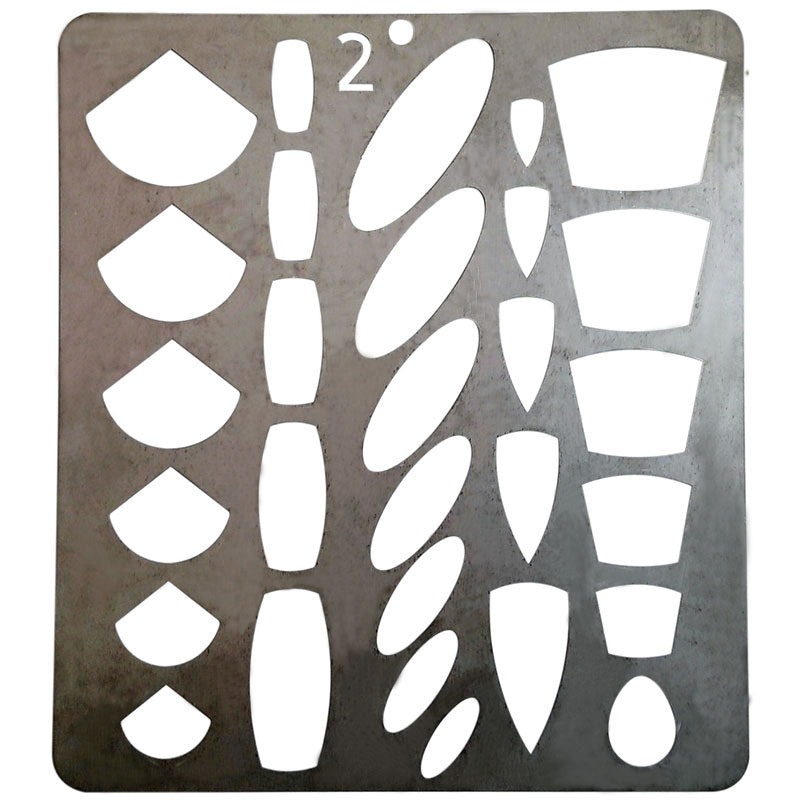 Stainless steel template
