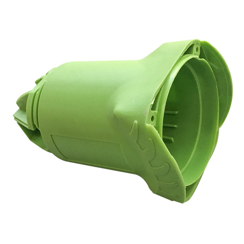 Replacement green nylon housing for WG003 and WG019 110v and 230v wet grinders