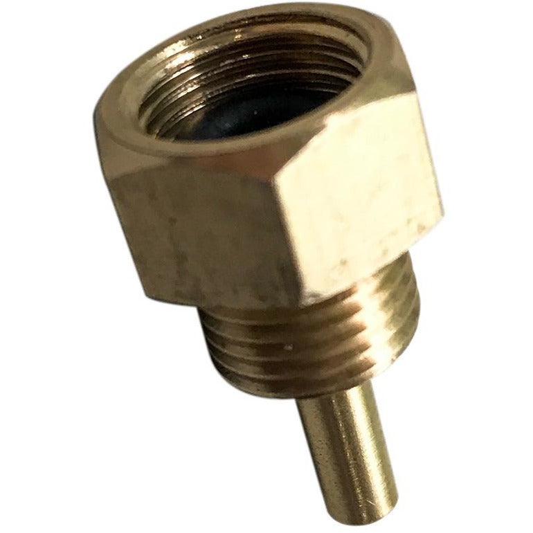 Through gearbox top brass water fitting for Model WG001/WG003 wet grinders