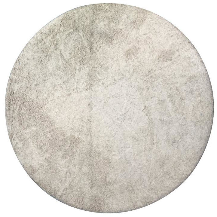 Highland Park 10 inch domed leather covered polishing disc with 1 inch bore for Highland Park Wet Belt Sander grinders