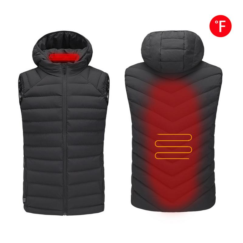 Intelligent heating electric vest USB charging