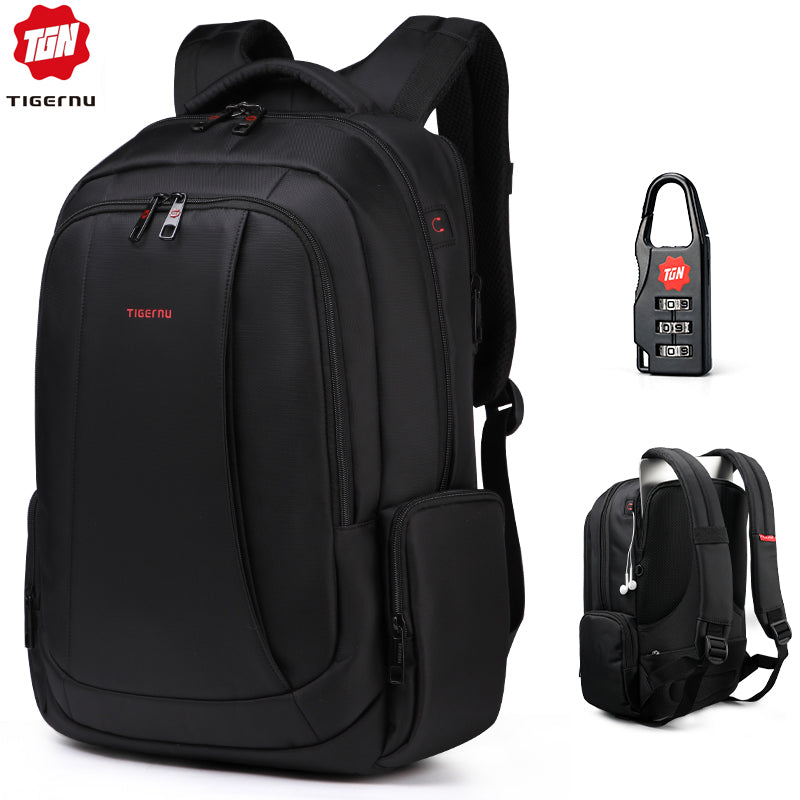 Anti Theft 27L Men 15.6 inch Laptop Backpacks