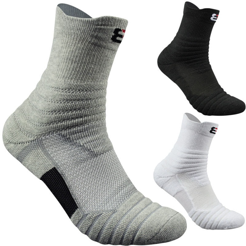 3 Pairs High Quality Cotton  Thick Thermal Men Socks