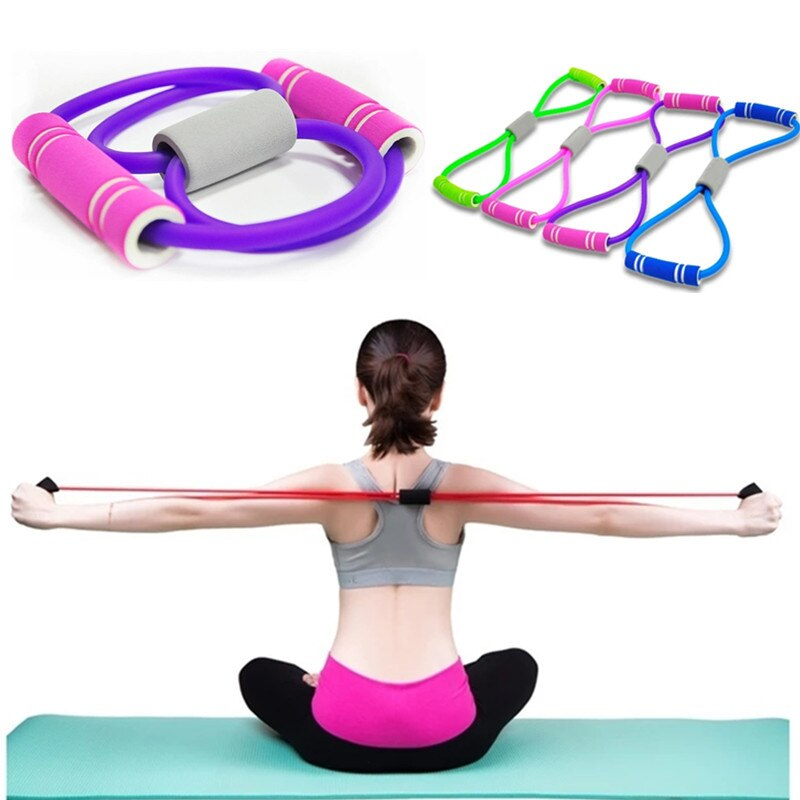 Resistance Bands Elastic Rope Tension Chest