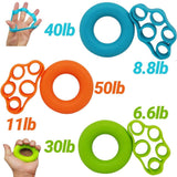 Fitness Hand Grip Ring Expander, Finger Stretcher 2pcs/set