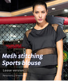 Fitness and Running Breathable shirt