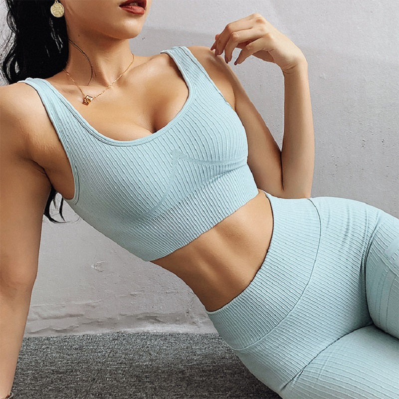 Seamless Professional Sports High elastic Set