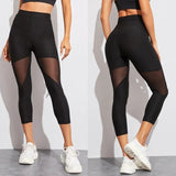 Leggings Gothic - Big Size Black
