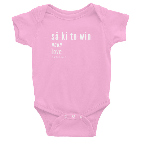 Love - sakitowin - Infant Bodysuit