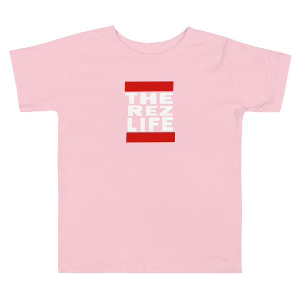 Can't run from THE REZ LIFE - Toddler Tee