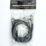 "1/4"" Ghost Fire Pancake Patch Cables-GHOST FIRE-16"" 2-Pack ($6.60 each)-GHOST FIRE USA"