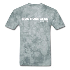 """Bootique Gear"" T-Shirt-Men's T-Shirt-SPOD-grey tie dye-M-GHOST FIRE USA"