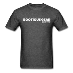 """Bootique Gear"" T-Shirt-Men's T-Shirt-SPOD-heather black-M-GHOST FIRE USA"
