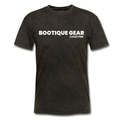 """Bootique Gear"" T-Shirt-Men's T-Shirt-SPOD-mineral black-M-GHOST FIRE USA"