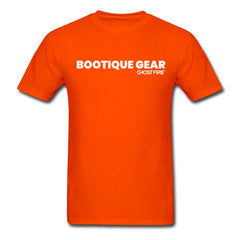 """Bootique Gear"" T-Shirt-Men's T-Shirt-SPOD-orange-M-GHOST FIRE USA"