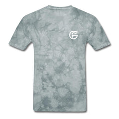 GHOST FIRE T-SHIRT (BADGE)-Men's T-Shirt-SPOD-grey tie dye-M-GHOST FIRE USA