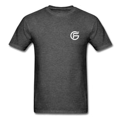 GHOST FIRE T-SHIRT (BADGE)-Men's T-Shirt-SPOD-heather black-M-GHOST FIRE USA