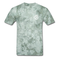 GHOST FIRE T-SHIRT (BADGE)-Men's T-Shirt-SPOD-military green tie dye-M-GHOST FIRE USA
