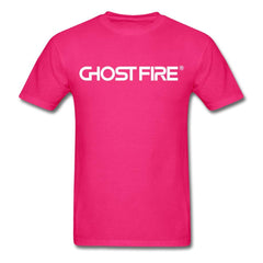Ghost Fire T-Shirt-Men's T-Shirt-SPOD-fuchsia-M-GHOST FIRE USA