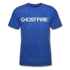 Ghost Fire T-Shirt-Men's T-Shirt-SPOD-mineral royal-M-GHOST FIRE USA
