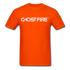 Ghost Fire T-Shirt-Men's T-Shirt-SPOD-orange-M-GHOST FIRE USA