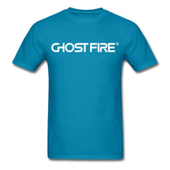 Ghost Fire T-Shirt-Men's T-Shirt-SPOD-turquoise-M-GHOST FIRE USA