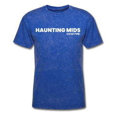 """Haunting Mids"" T-Shirt-Men's T-Shirt-SPOD-mineral royal-M-GHOST FIRE USA"