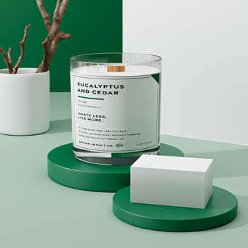 Eucalyptus And Cedar | Zero Waste Candle