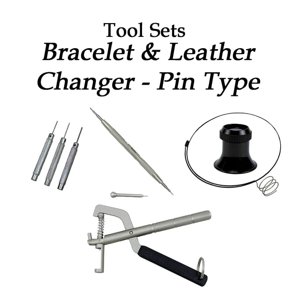 Bracelet & Leather Changer Pin Type Kit