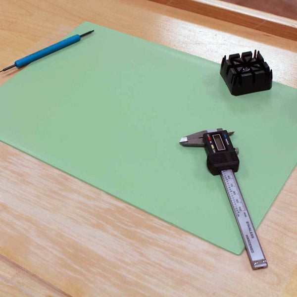 Bergeon 6808 Work Pad Bench Mat Plastic with Adhesive Backing