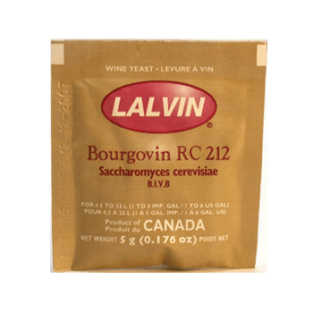 Lalvin Bourgovin Wine Yeast RC 212