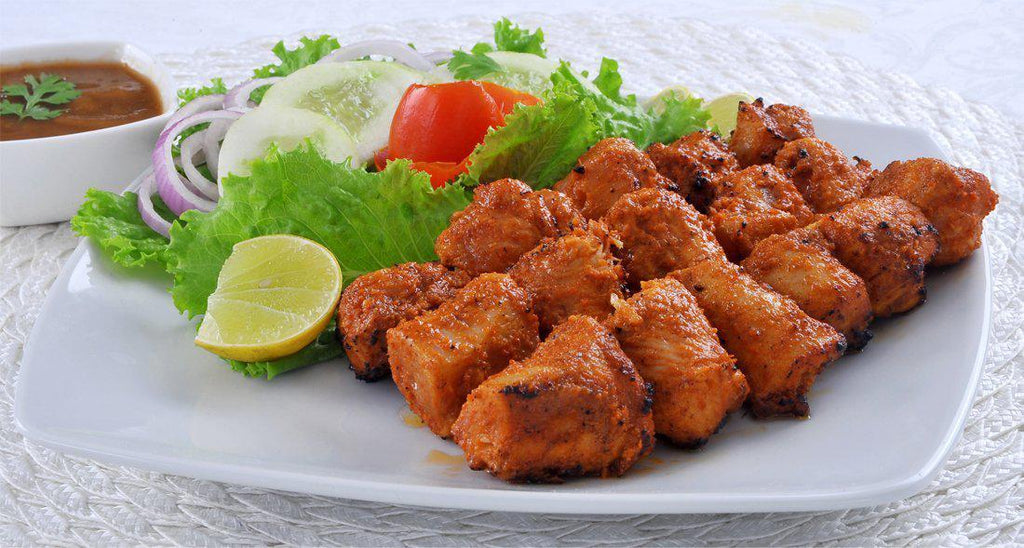 "Chicken Tikka Masala - ""Chicken marinated in yogurt and spices & served in creamy tomato sauce"" - Just 2 Eat- Ready to Eat Main Course, Snacks, Breads & Sweets"