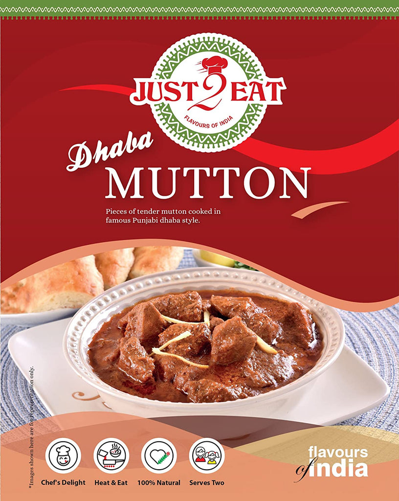 "Dhaba Mutton - ""Pieces of tender mutton cooked in famous punjabi dhaba style"" - Just2Eat"