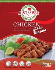 "Chicken Tikka Masala - ""Chicken marinated in yogurt and spices & served in creamy tomato sauce"" - Just2Eat"