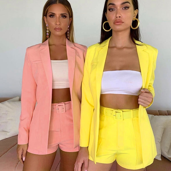 Phoebe Suit Set - Pink, Yellow & Orange - MÏA Brand