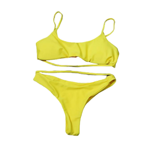 Lia Bikini - Red, Black, Yellow & Blue - MÏA Brand