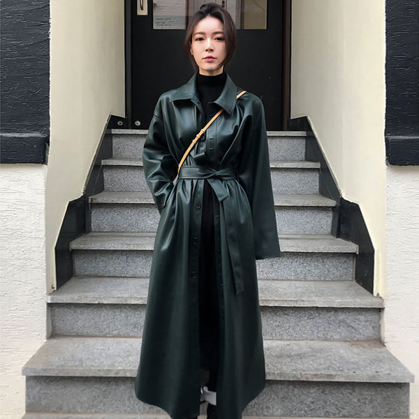 Neo Long Jacket - Black, Green, Beige & Camel - MÏA Brand