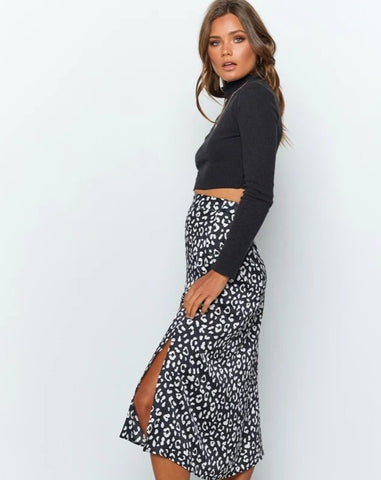 Isabella Skirt - Black, Green, White - MÏA Brand