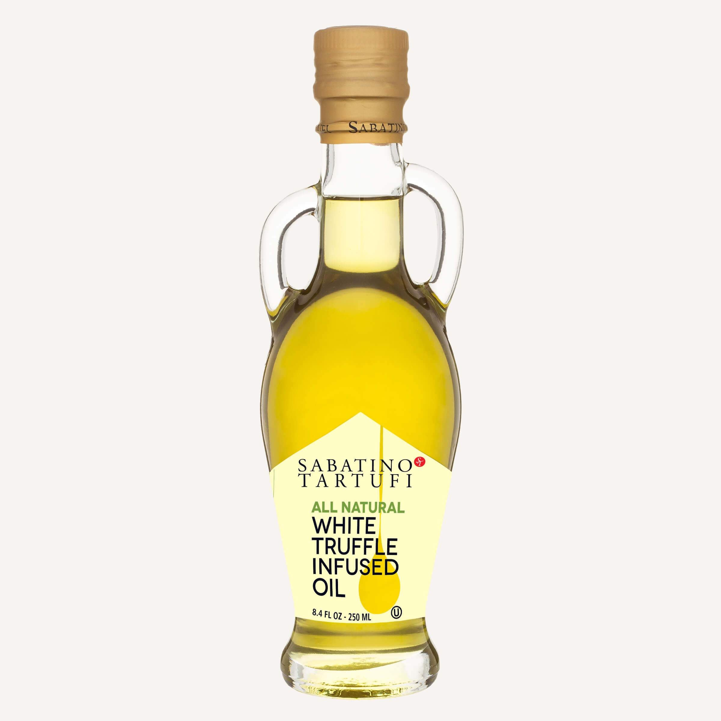White Truffle Infused Olive Oil - 8.4 fl oz <br> Case Pack 6 Units
