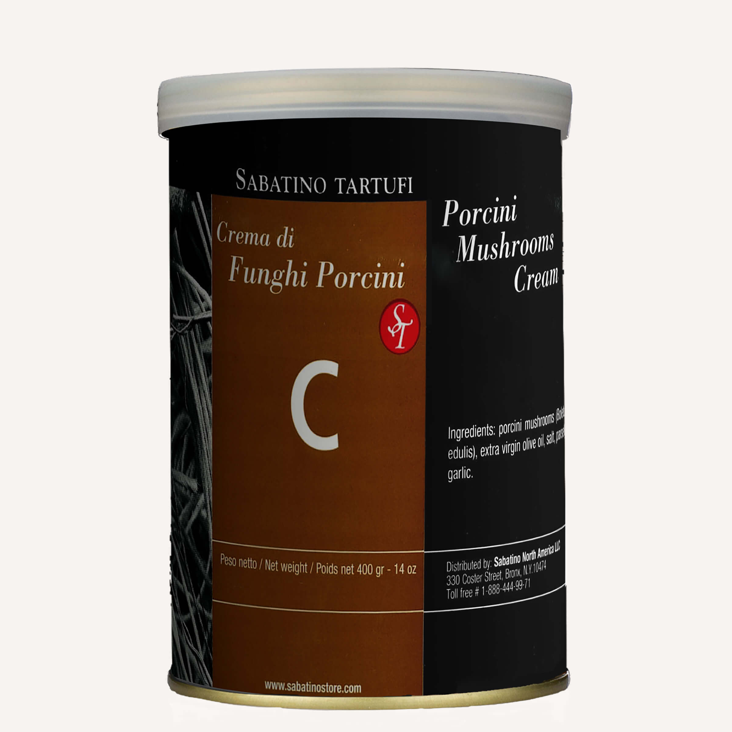 Porcini Mushroom Cream - 14 oz <br> Single Unit