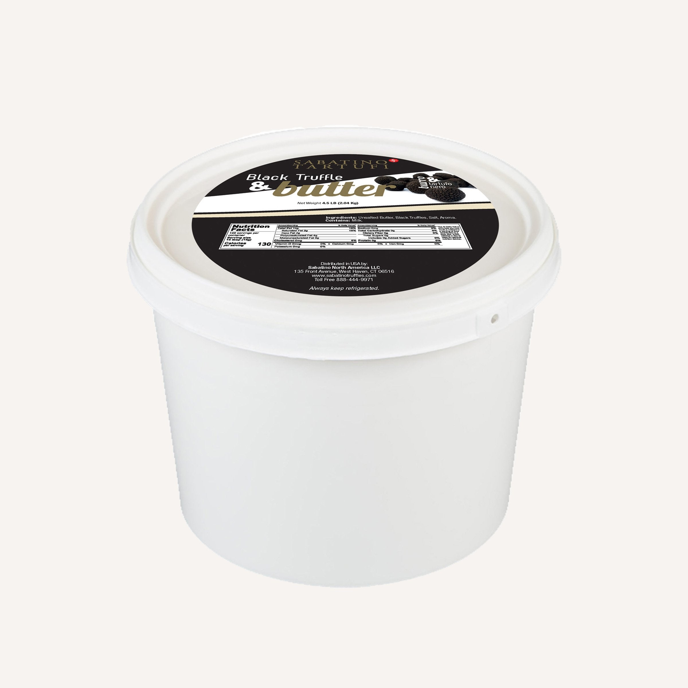 Black Truffle Butter - 4.5 lbs <br> Case Pack 6 Units
