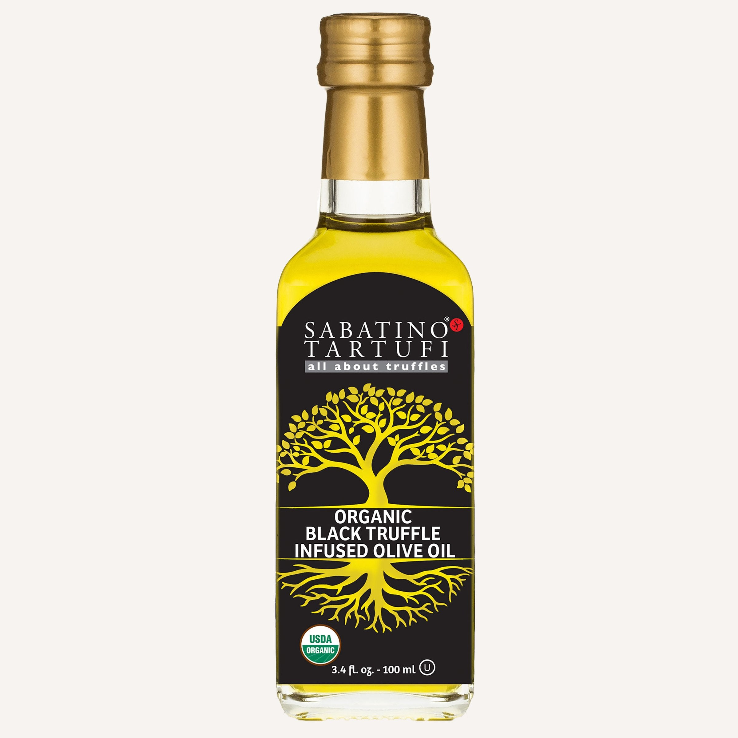 USDA Organic Black Truffle Oil - 3.4 fl oz <br>Case Pack 6 Units